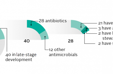 28 antibiotics for priority pathogens - two stand out